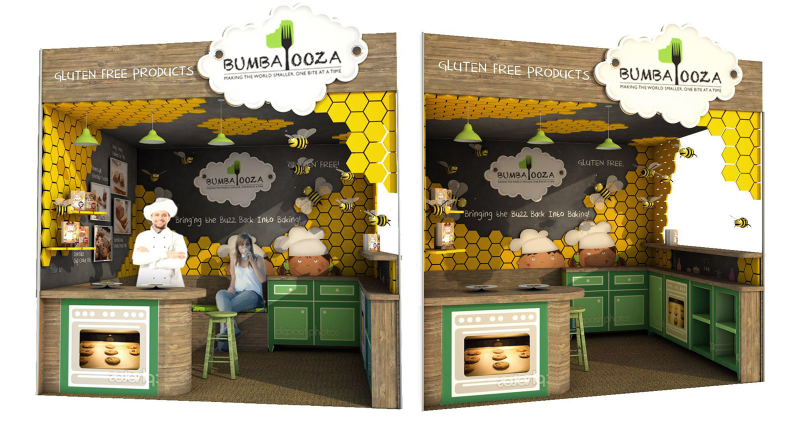 Trade Show Booth Design For A Fair In New York Trogled